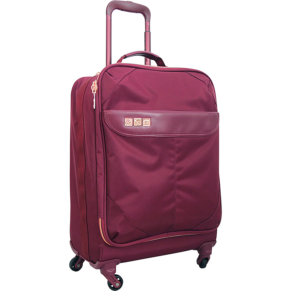 Flight 001 19 Avionette Carry On Spinner Sangria Flight 001 Softside Carry On