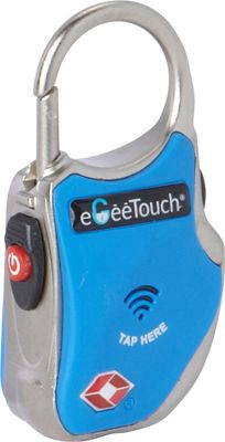 eGeeTouch Smart Travel Padlock Blue - eGeeTouch Luggage Accessories