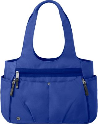 baggallini Gumption Medium Tote COBALT - baggallini Fabric Handbags