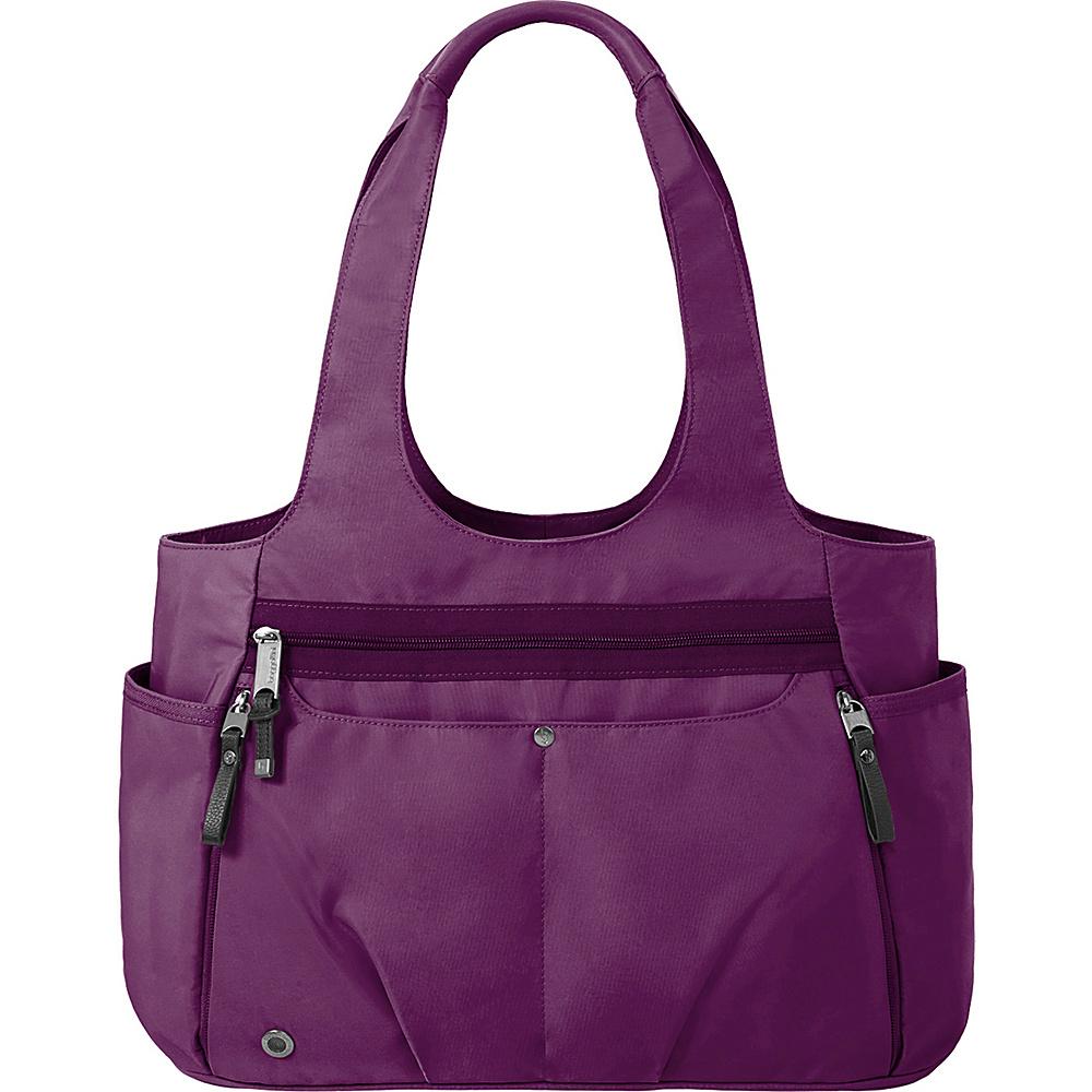 baggallini Gumption Medium Tote Mulberry - baggallini Fabric Handbags - Handbags, Fabric Handbags