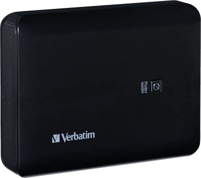 Verbatim Dual USB Power Pack, 10400mAh