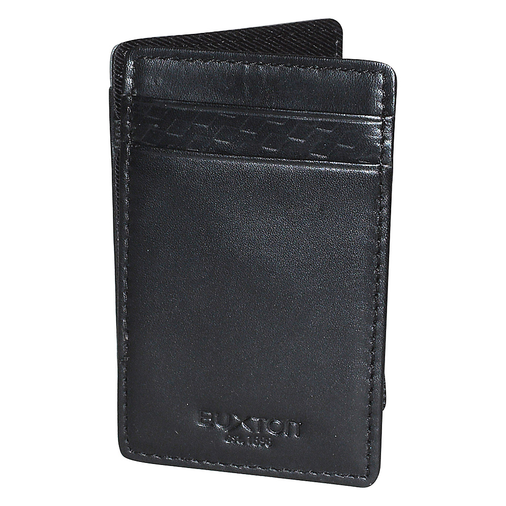 Buxton Bellamy RFID I.D. Magic Wallet Black - Buxton Mens Wallets - Work Bags & Briefcases, Men's Wallets