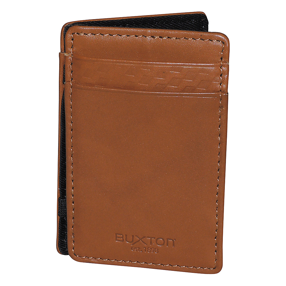 Buxton Bellamy RFID I.D. Magic Wallet Tan - Buxton Mens Wallets - Work Bags & Briefcases, Men's Wallets