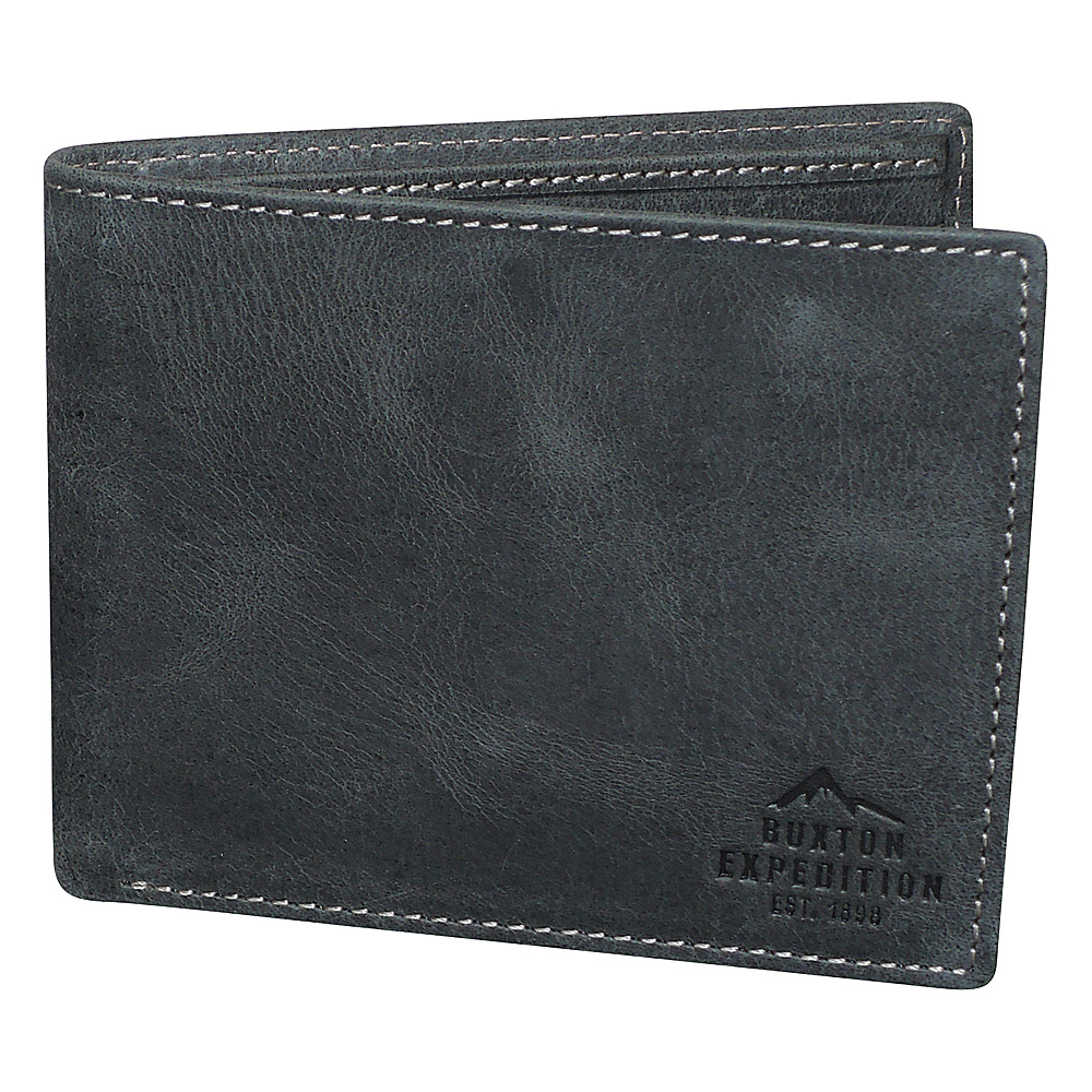 Buxton Expedition II RFID Slimfold Black - Buxton Mens Wallets - Work Bags & Briefcases, Men's Wallets