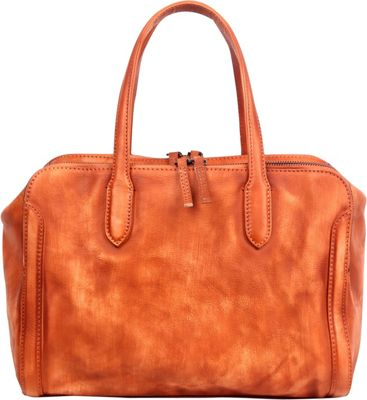 Old Trend Spring Meadow Satchel Cognac - Old Trend Leather Handbags
