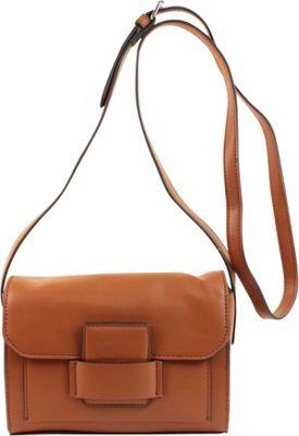 Emilie M Allie Crossbody Cognac - Emilie M Leather Handbags