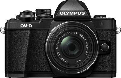 Olympus Mark II 16.1MP Mirrorless Camera with 14-42mm IIR Lens Black - Olympus Cameras