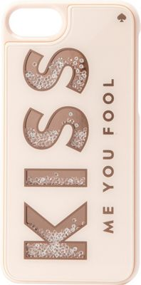 kate spade new york Kiss Me You Fool iPhone 7 Case Kiss Me You Fool - kate spade new york Electronic Cases