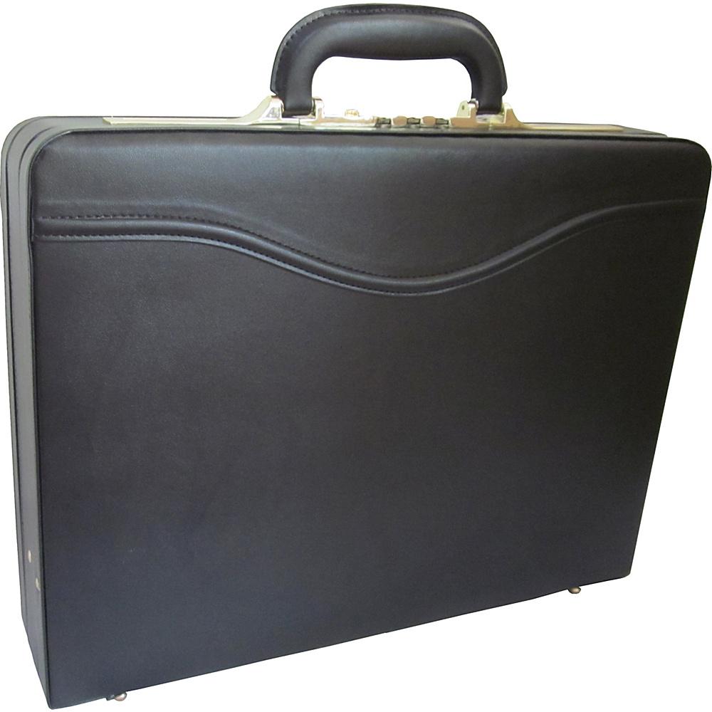 AmeriLeather Auden Executive Attache Case Black - AmeriLeather Non-Wheeled Business Cases - Work Bags & Briefcases, Non-Wheeled Business Cases