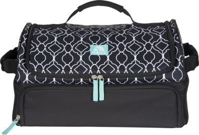 Igloo Party Bag Ornate Trellis Black - Igloo Travel Coolers
