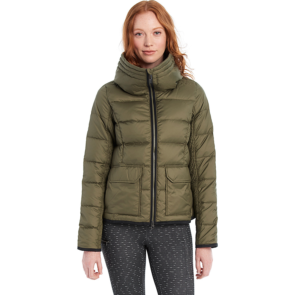 Lole Ginny Jacket L - Khaki - Lole Womens Apparel - Apparel & Footwear, Women's Apparel