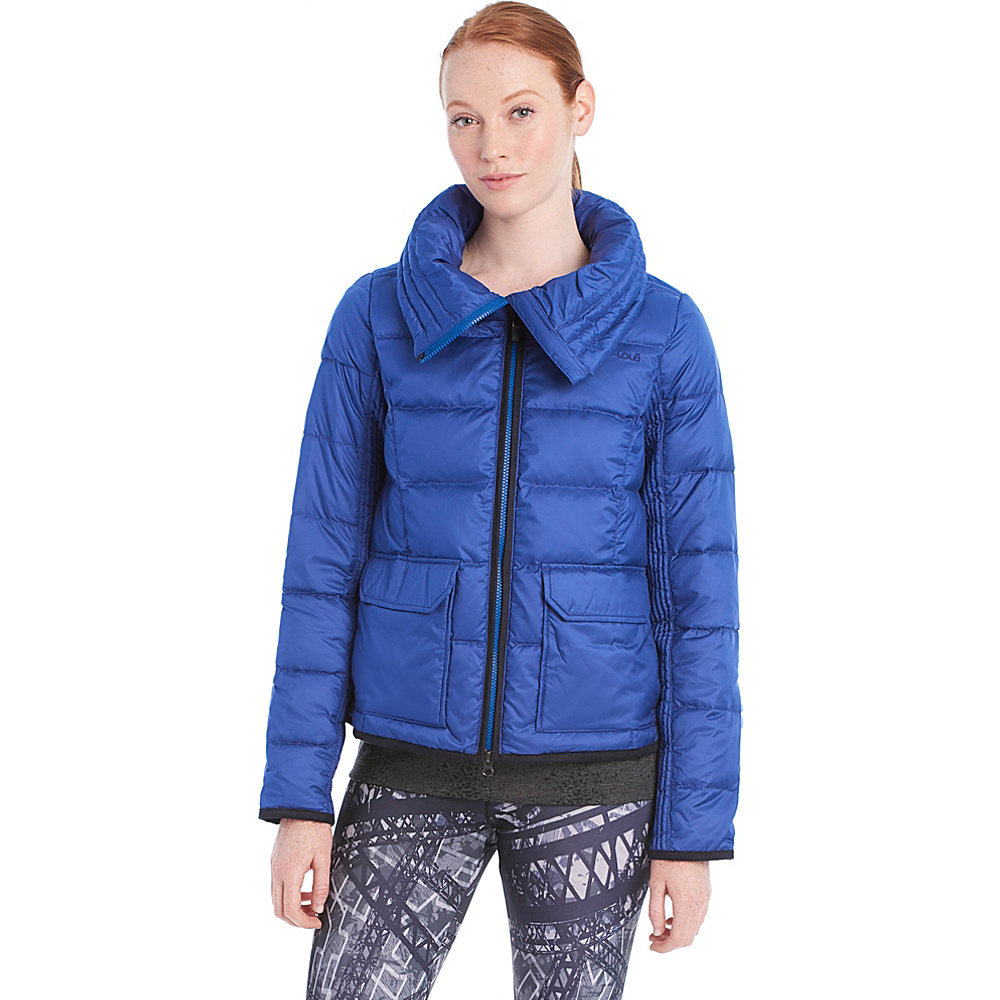 Lole Ginny Jacket S - Twilight Blue - Lole Womens Apparel - Apparel & Footwear, Women's Apparel