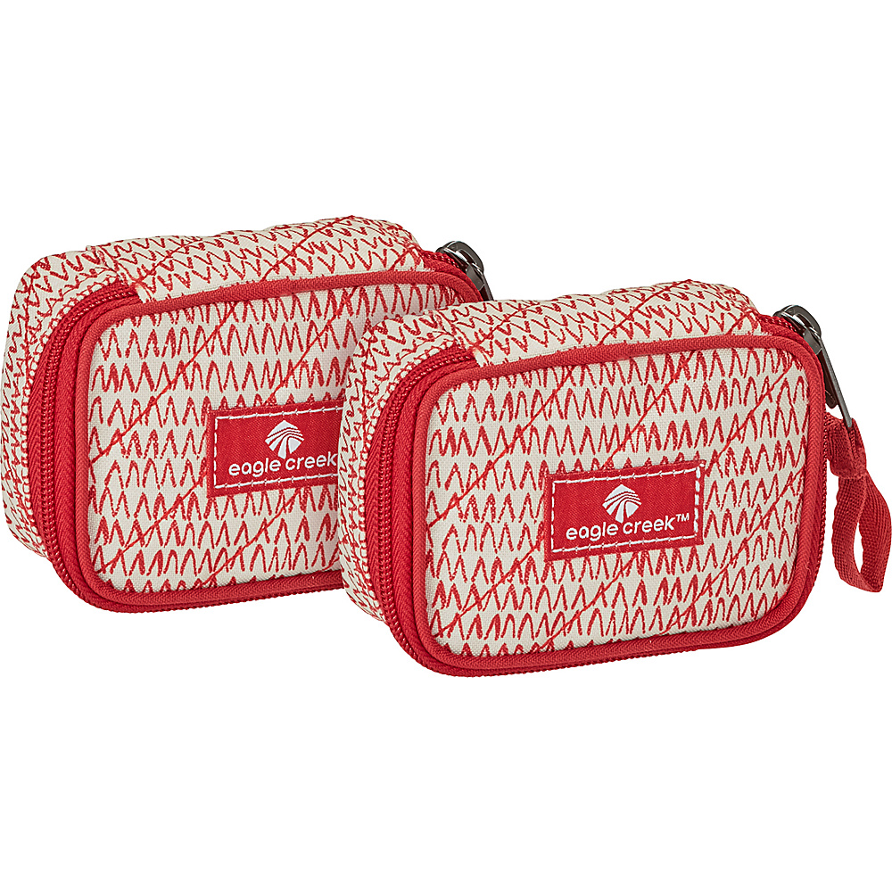 Eagle Creek Pack-It OriginalQuilted Mini Cube Set Repeak Red - Eagle Creek Travel Organizers - Travel Accessories, Travel Organizers