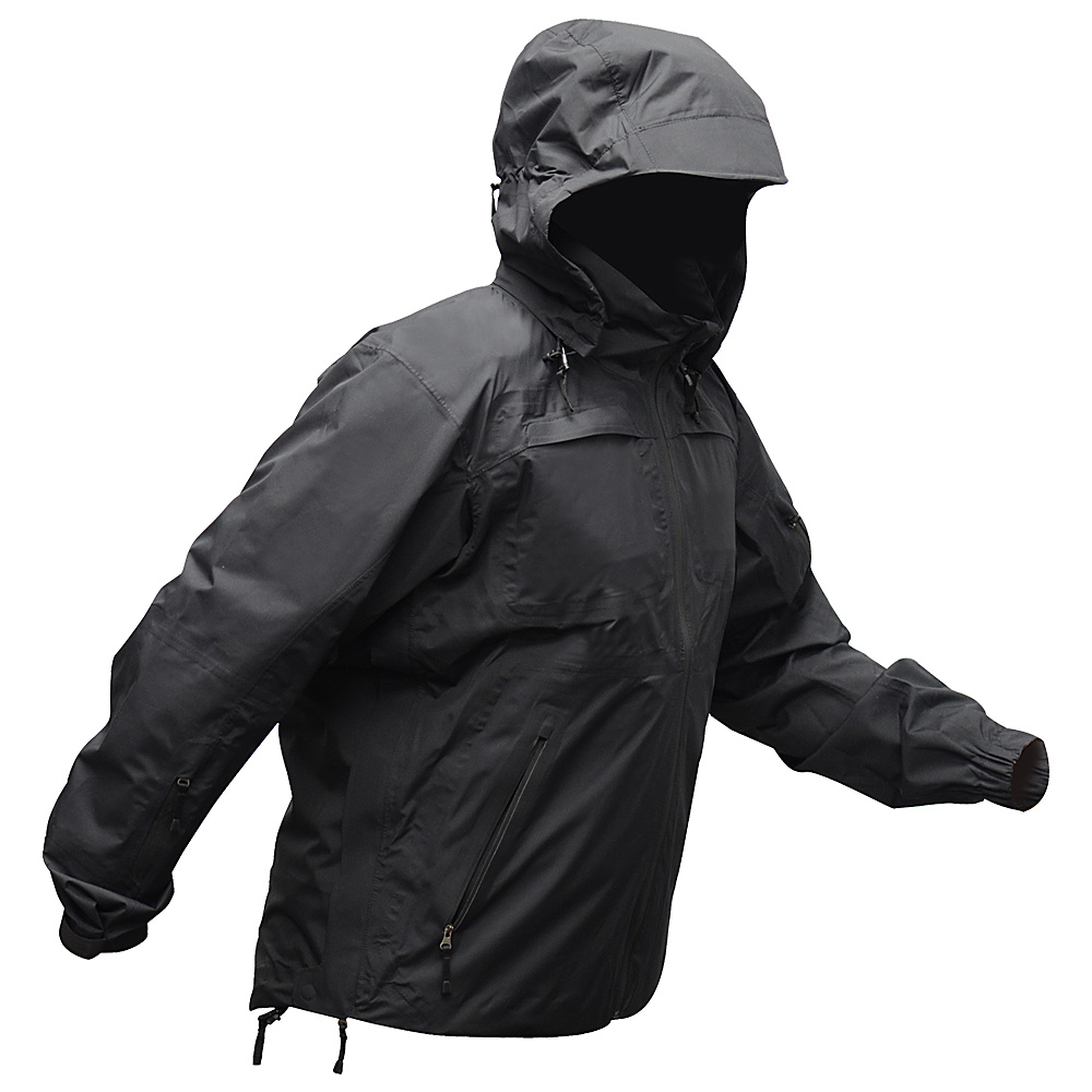 Vertx Integrity Waterproof Shell Jacket L - Black - Vertx Mens Apparel - Apparel & Footwear, Men's Apparel