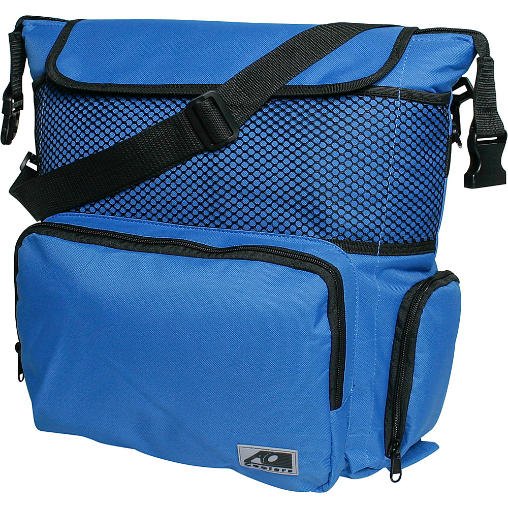 AO Coolers 18 Pack Backpack Soft Cooler Royal Blue AO Coolers Outdoor Coolers