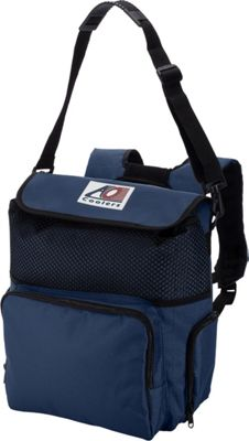 AO Coolers 18 Pack Backpack Soft Cooler Navy Blue - AO Coolers Outdoor Coolers