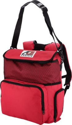 AO Coolers 18 Pack Backpack Soft Cooler Red - AO Coolers Outdoor Coolers