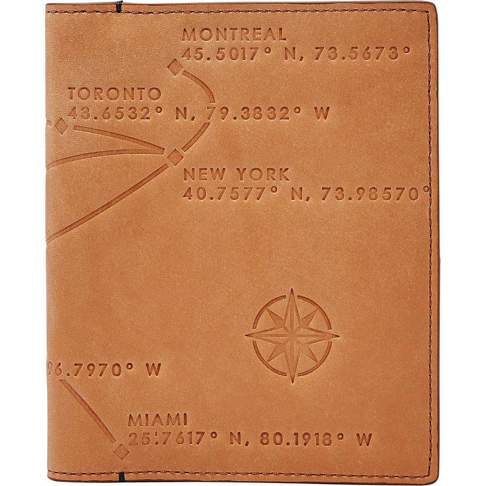 Fossil RFID Passport Case Saddle - Fossil Travel Wallets - Travel Accessories, Travel Wallets