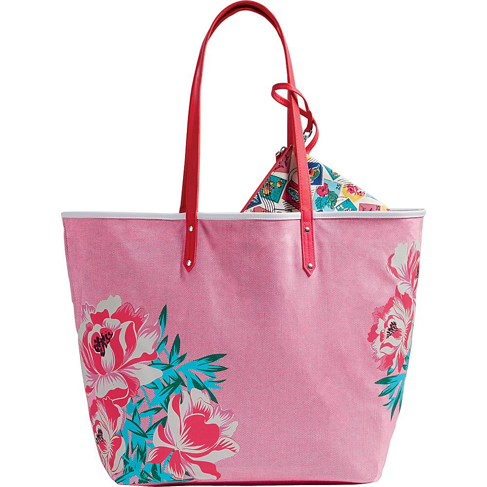 Vera Bradley Beach Tote Oxford Floral - Vera Bradley Fabric Handbags - Handbags, Fabric Handbags