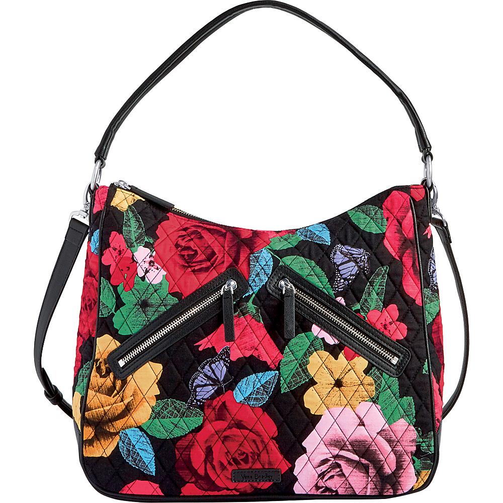 Vera Bradley Vivian Hobo Bag Havana Rose - Vera Bradley Fabric Handbags - Handbags, Fabric Handbags