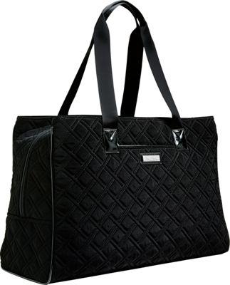 Vera Bradley Keep Charged Triple Compartment Bag Classic Black - Vera Bradley Fabric Handbags