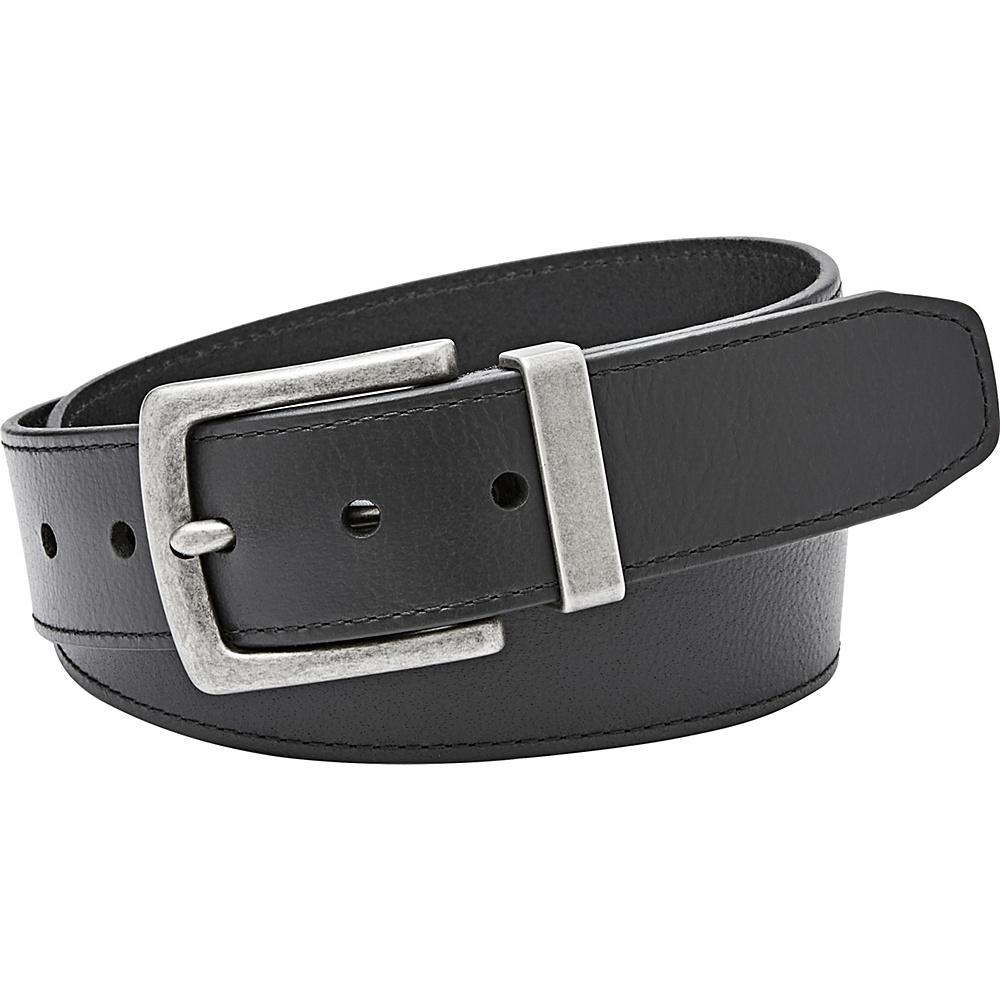 Fossil Mace Jean Belt 34 - Black - Fossil Belts - Fashion Accessories, Belts