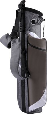 Wellzher Quantum Lite Collapsible Sunday Golf Bag Grey - Wellzher Golf Bags
