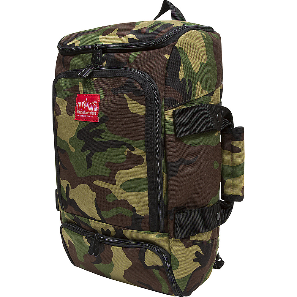 Manhattan Portage Ludlow Convertible Backpack Jr Camouflage - Manhattan Portage Everyday Backpacks - Backpacks, Everyday Backpacks