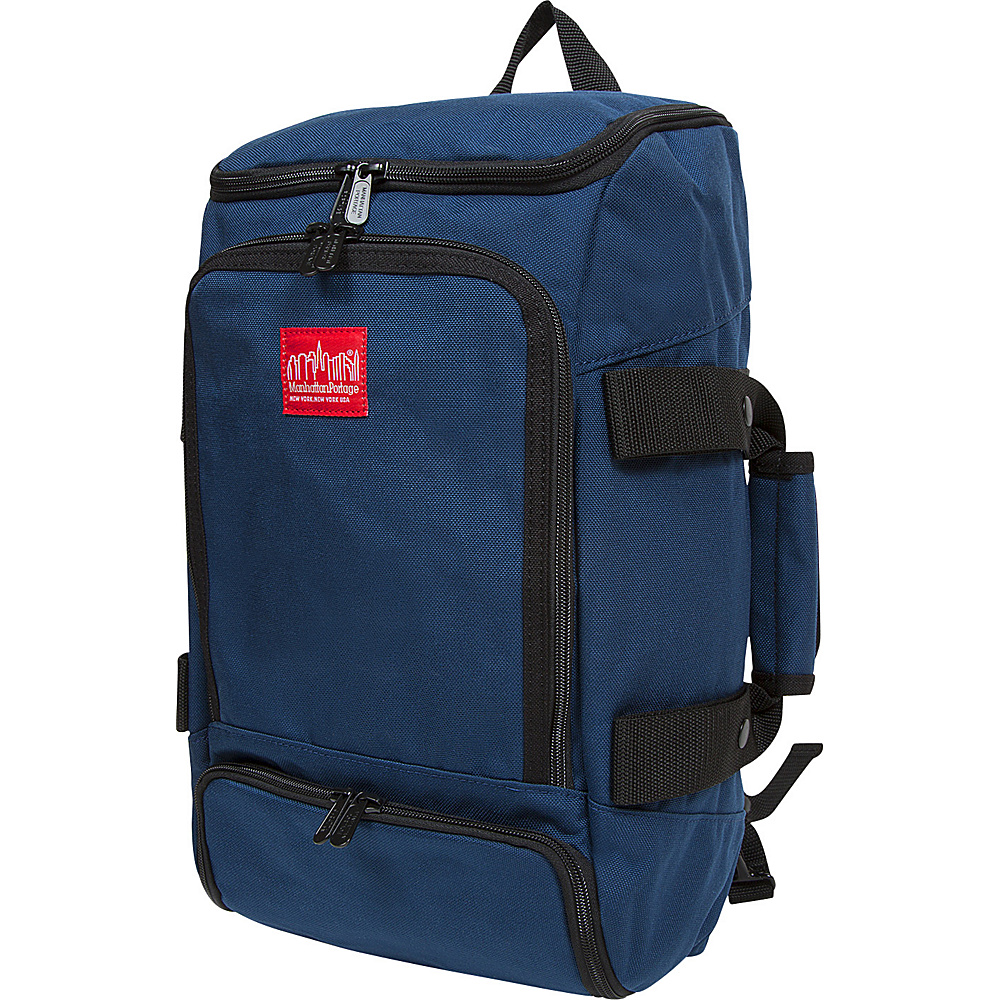 Manhattan Portage Ludlow Convertible Backpack Jr Navy - Manhattan Portage Everyday Backpacks - Backpacks, Everyday Backpacks