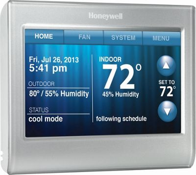 Honeywell Honeywell Wi-Fi Smart Thermostat Silver - Honeywell Smart Home Automation