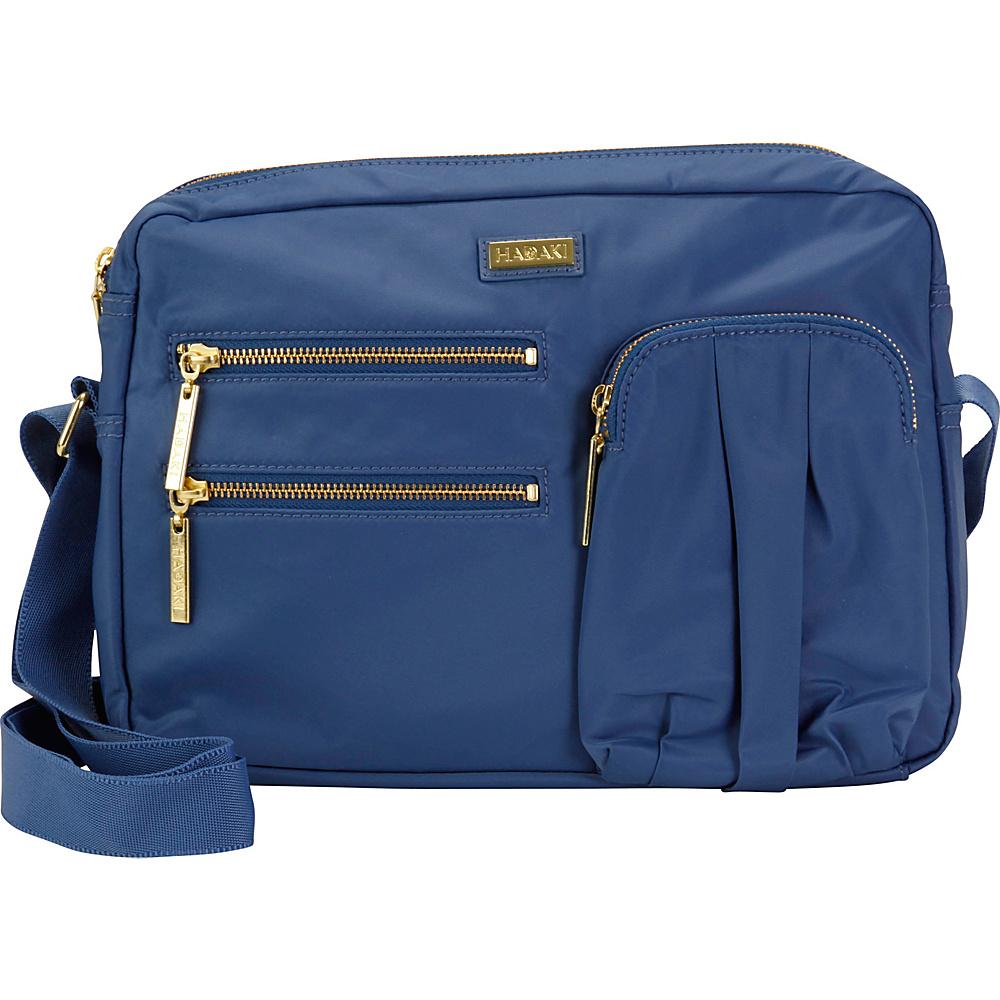 Hadaki Uptown Crossbody Bijou Blue - Hadaki Fabric Handbags - Handbags, Fabric Handbags