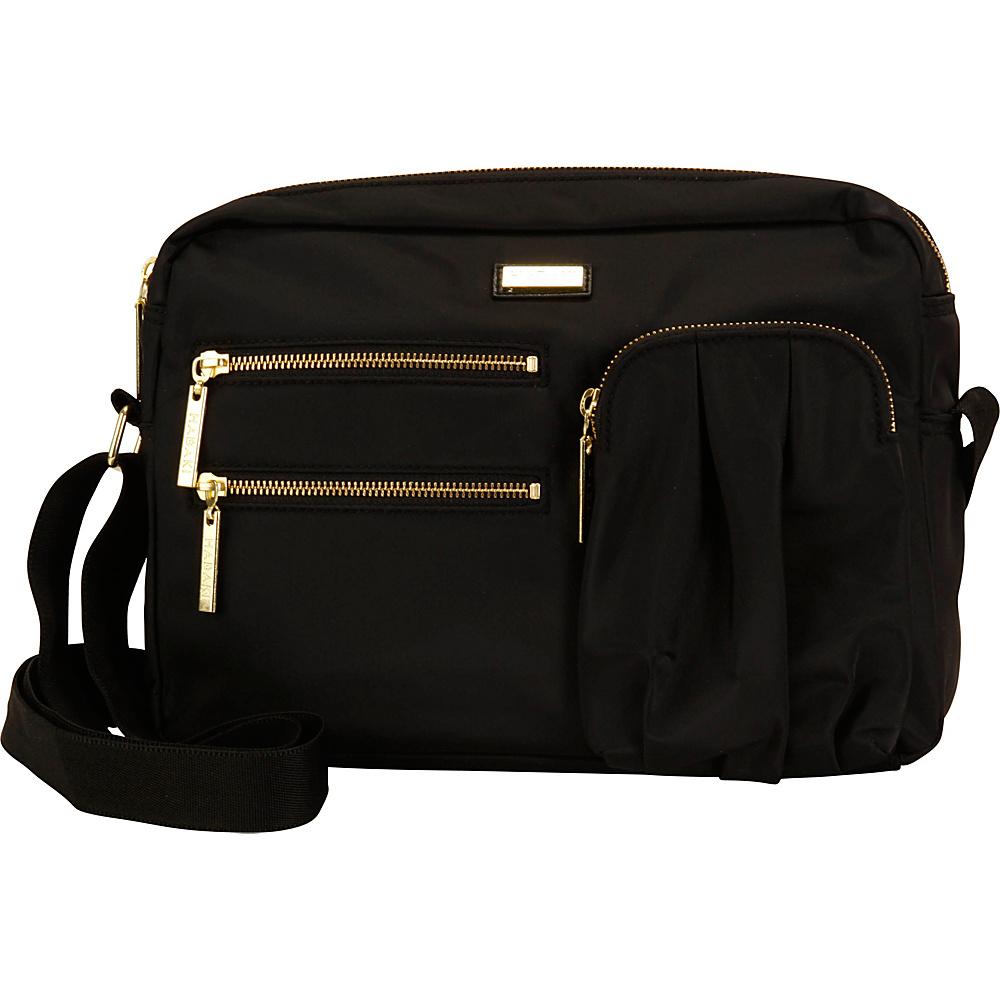 Hadaki Uptown Crossbody Black - Hadaki Fabric Handbags - Handbags, Fabric Handbags