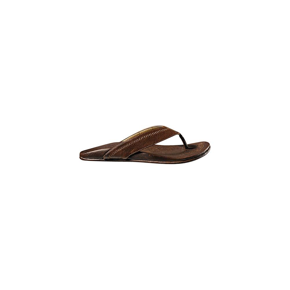 OluKai Mens Hiapo Sandal 11 - Teak/Teak - OluKai Mens Footwear - Apparel & Footwear, Men's Footwear