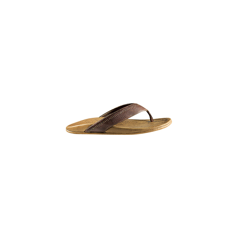 OluKai Mens Hiapo Sandal 7 - Dark Java/Toffee - OluKai Mens Footwear - Apparel & Footwear, Men's Footwear
