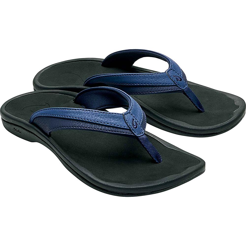 OluKai Womens Ohana Sandal 5 - Blueberry/Black - OluKai Womens Footwear - Apparel & Footwear, Women's Footwear