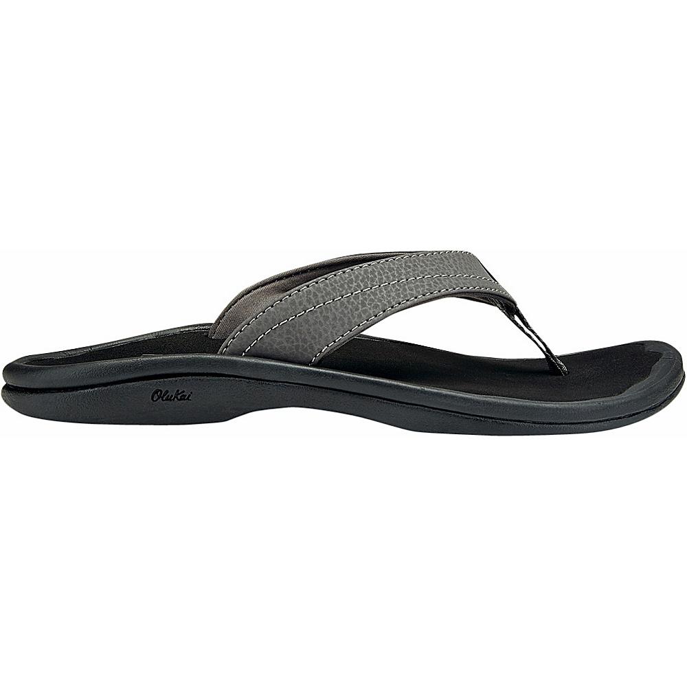 OluKai Womens Ohana Sandal 6 - Basalt/Grey - OluKai Womens Footwear - Apparel & Footwear, Women's Footwear