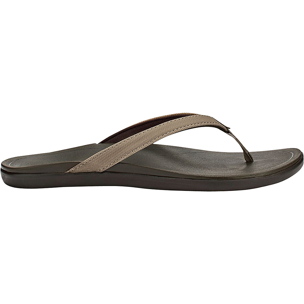 OluKai Womens HoOpio Sandal 6 - Clay/Dark Java - OluKai Womens Footwear - Apparel & Footwear, Women's Footwear