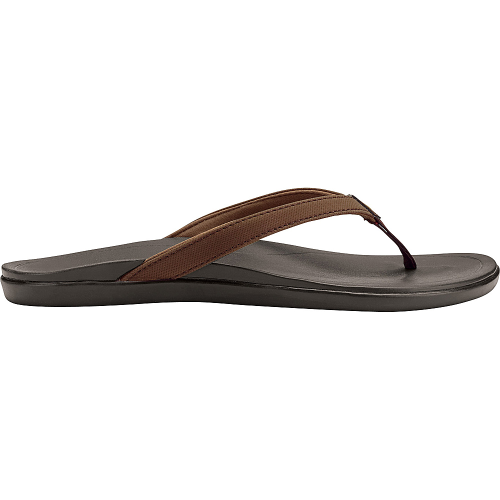 OluKai Womens HoOpio Sandal 7 - Dark Java/Dark Java - OluKai Womens Footwear - Apparel & Footwear, Women's Footwear