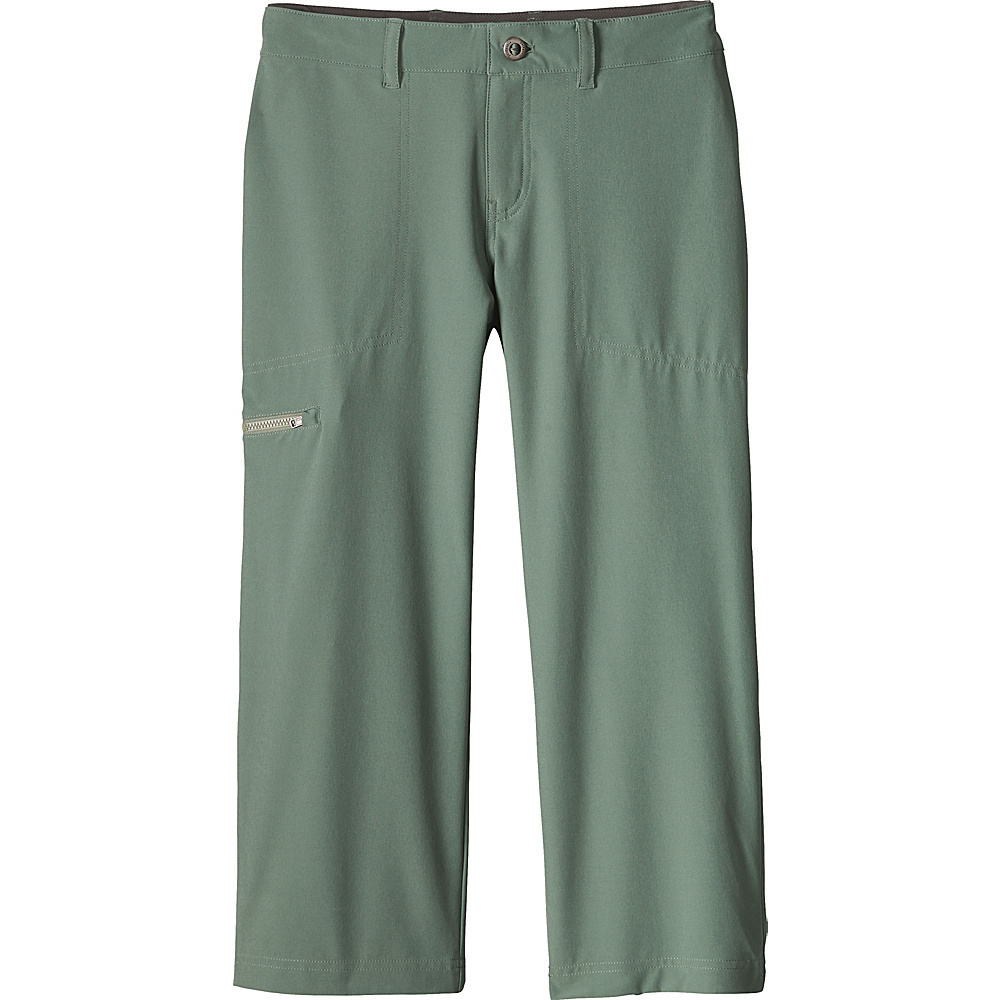 Patagonia Womens Happy Hike Cropped Pants 0 - 22in - Hemlock Green - Patagonia Womens Apparel - Apparel & Footwear, Women's Apparel