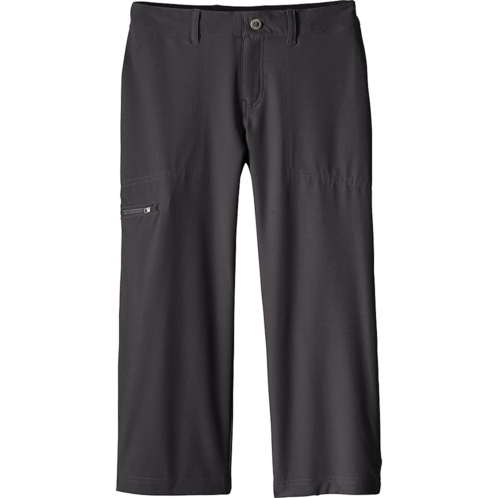 Patagonia Womens Happy Hike Cropped Pants 2 - 22in - Ink Black - Patagonia Womens Apparel - Apparel & Footwear, Women's Apparel