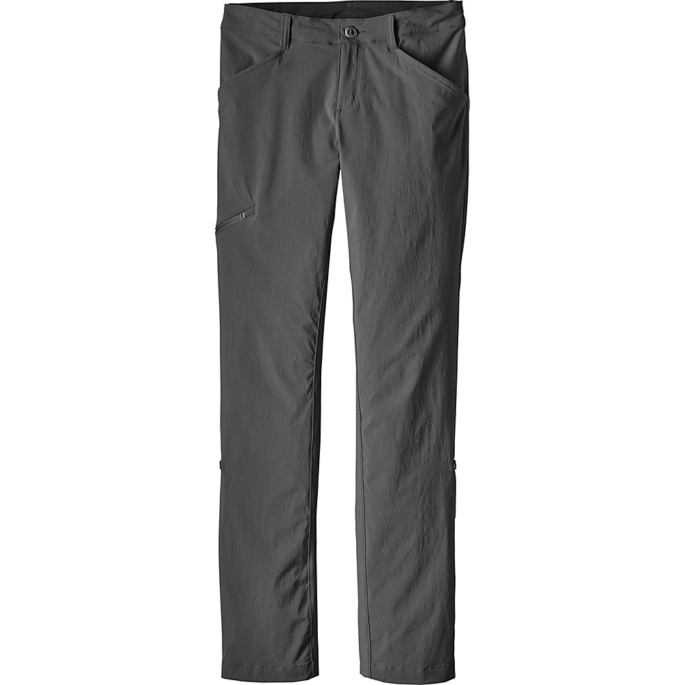 Patagonia Womens Quandary Pants 12 - Petite - Forge Grey - Patagonia Womens Apparel - Apparel & Footwear, Women's Apparel
