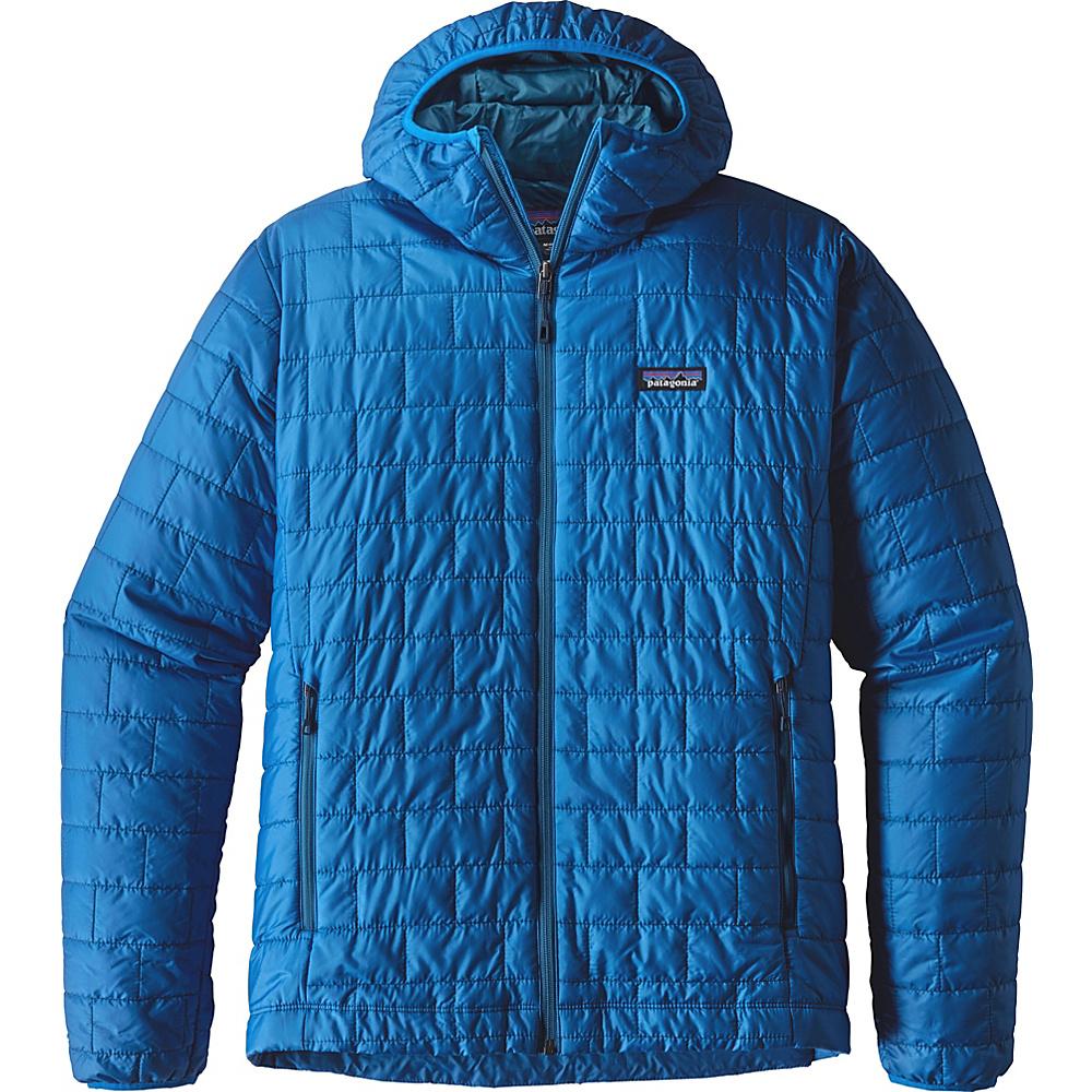 Patagonia Mens Nano Puff Hoody XL - Andes Blue - Patagonia Mens Apparel - Apparel & Footwear, Men's Apparel