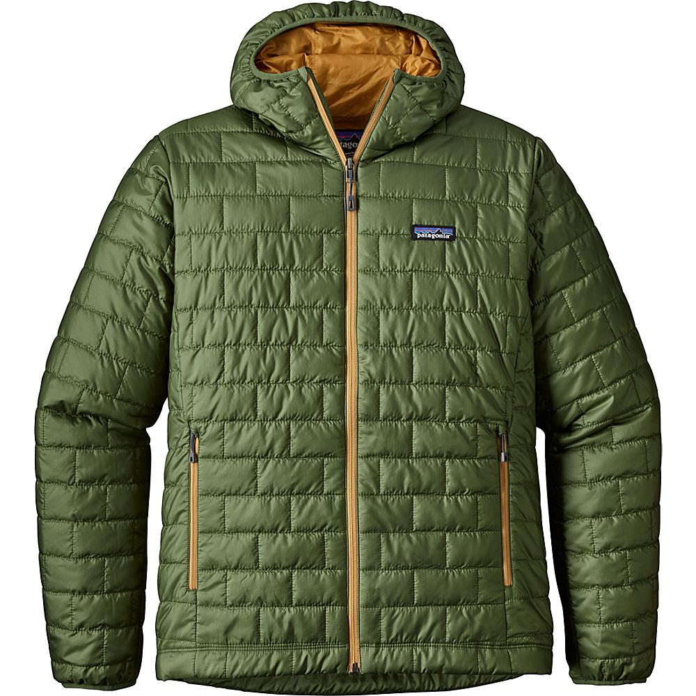 Patagonia Mens Nano Puff Hoody XL - Buffalo Green - Patagonia Mens Apparel - Apparel & Footwear, Men's Apparel