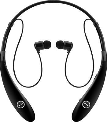 Koolulu Wireless Stereo Bluetooth Headsets Black - Koolulu Headphones & Speakers