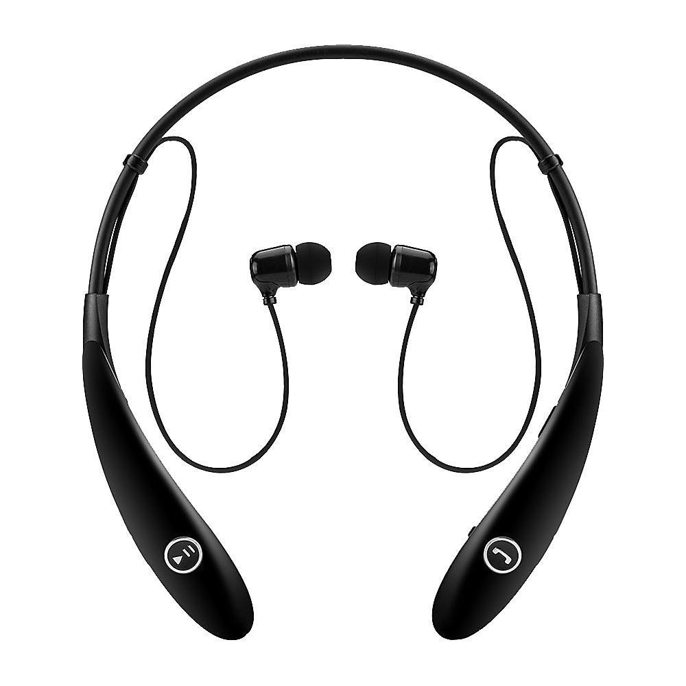 Koolulu Wireless Stereo Bluetooth Headsets Black Koolulu Headphones Speakers