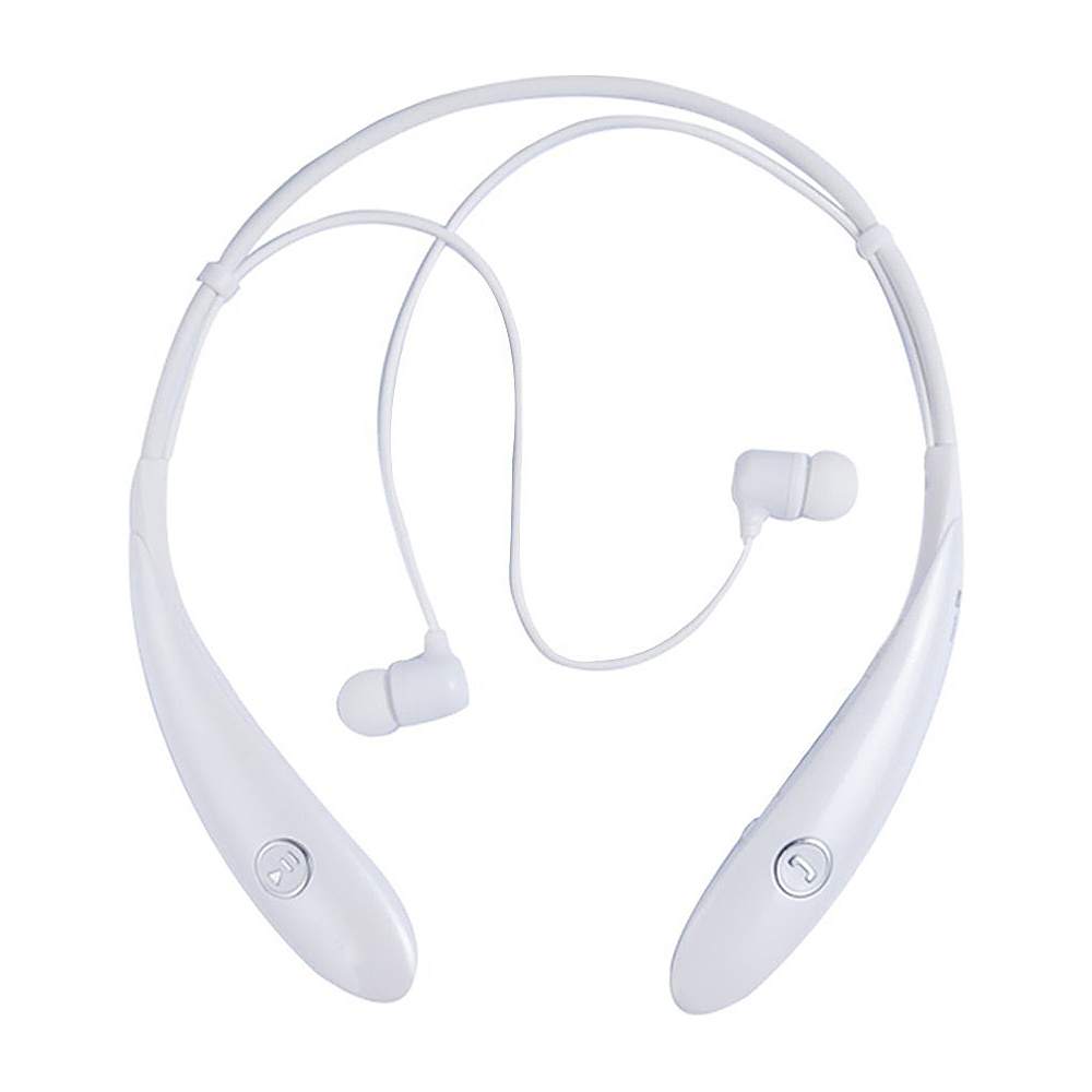 Koolulu Wireless Stereo Bluetooth Headsets White Koolulu Headphones Speakers
