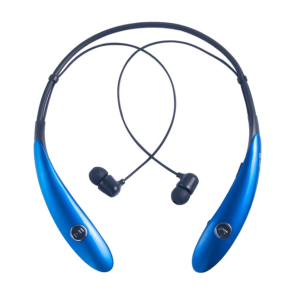 Koolulu Wireless Stereo Bluetooth Headsets Blue Koolulu Headphones Speakers