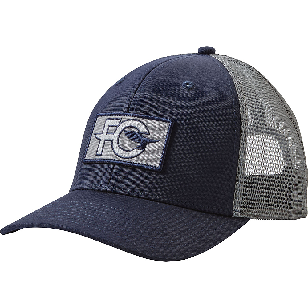 Patagonia FCD Anvil Patch Trucker Hat One Size - Navy Blue w/Feather Grey - Patagonia Hats/Gloves/Scarves - Fashion Accessories, Hats/Gloves/Scarves