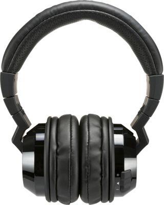 Kicker Tabor Bluetooth Wireless Headphones Black - Kicker Headphones & Speakers