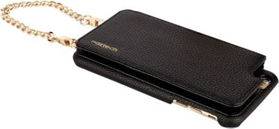 Hello Gorgeous Crossbody Case iPhone 7 Plus & 6 Plus Black/Black - Hello Gorgeous Electronic Cases